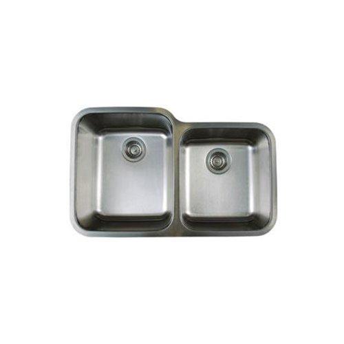 (Blanco BL441023 Stellar 1-3/4-Inch Bowl Undermount Sink, Refined Brushed)