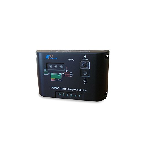 PuntoEnergia Italia KBA-80-12-B60-AVF Kit solare baita 80W 12V Base pannello regolatore inverter batteria 60Ah