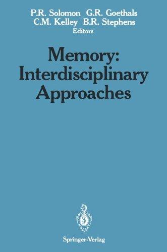 Books : Memory: Interdisciplinary Approaches
