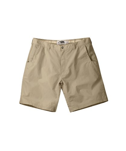 Mountain Khakis Men's Equatorial Short Relaxed Fit, Retro Khaki, 33 x 9-Inch