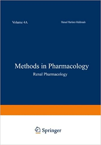 Book Methods in Pharmacology: Volume 4A Renal Pharmacology