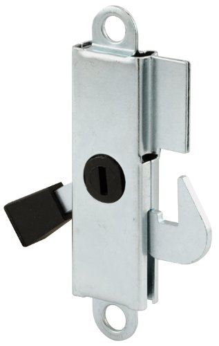 Prime-Line Products E 2105 Sliding Door Internal Lock, Aluminum with Steel Hook and ()