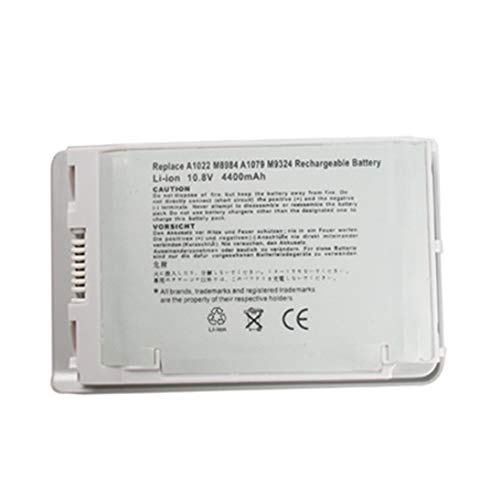 Baynne-US Replacement Laptop BATTERY Compatible for PowerBook G4 12 A1022 M8760 M8984 M8984G