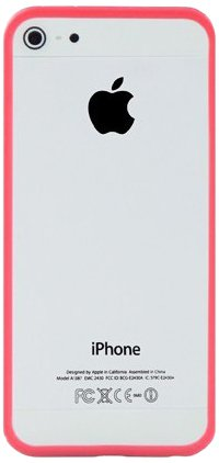 InvisibleShield Katinkas Bumper Tasche für Apple iPhone 5 rot