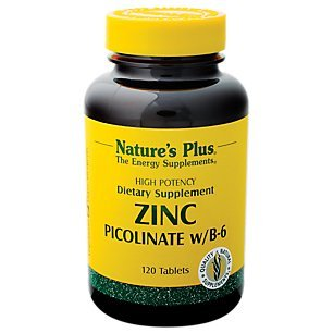 Nature's Plus – Zinc Picolinate W/B-6, 30 mg, 120 tablets Review
