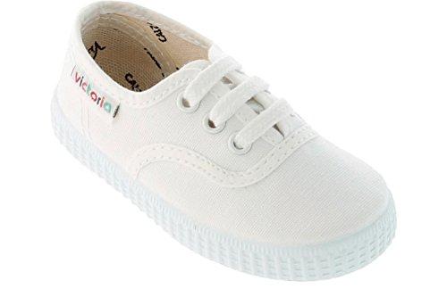 Lona Zapatillas Inglesa blanco Unisex Victoria Bianco 1F7Zw6Wq