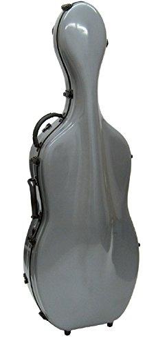 Carlo Giordano CC600G - Estuche para cello, 4/4, fibra de ...