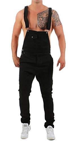 [해외]Xswsy XG 남성 펑크 점프 수트 슬림 턱 받이 힙 스 터 힙합 청바지 데님 바지 / Xswsy XG Mens Punk Jumpsuit Slim Bib Hipster Hip-Hop Jeans Denim Overalls