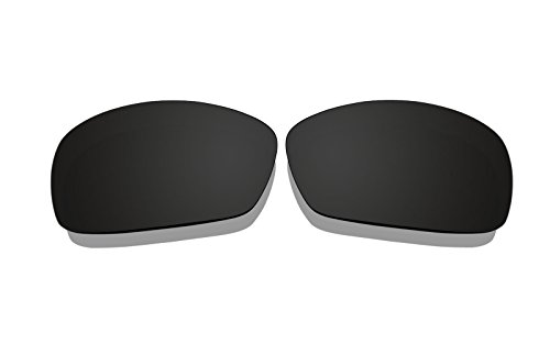 Black Polarized Replacement Lenses for Oakley Hijinx ()