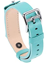 Compatible for Fitbit Flex 2 Watch Strap Leather Watch Bands Durable Watch Band Stylish Watch Strap Replacement Compatible for Fitbit Flex 2