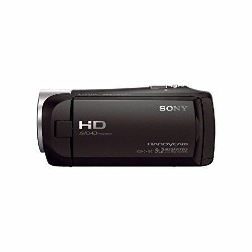 31PIrCuQpQL - Sony HDR-CX405/B Handycam HD Camcorder w/ 32GB Deluxe Accessory Kit