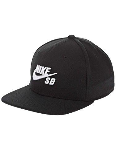 NIKE Schirmmütze SB Icon Pro, Black/White, One Size, 628683-013