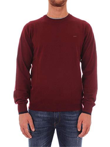 SUN68 Camiseta K28105 SUN68 K28105 Hombre Hombre Camiseta Bordeaux wzP1x8wtq