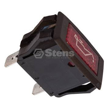 Stens 435-127 Oil Warning Light, Replaces Club Car: 1016630, Fits Club Car: DS and Precedent, gas, 1984 and newer (1984 Cars)