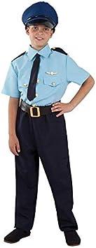 DISBACANAL Disfraz piloto avión Infantil - -, 12 años: Amazon.es ...