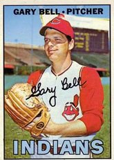 1967 Topps Regular (Baseball) card#479 Gary Bell of the Cleveland Indians Grade Very Good ()