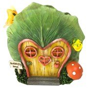 Bella's Garden Fairy Garden Collection - Lettuce House - Butterfly (Bella Leather Chair)