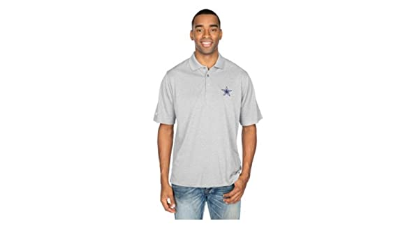 c8d7817ef7b Amazon.com : Dallas Cowboys Antigua Pique Xtra-Lite Polo : Sports & Outdoors