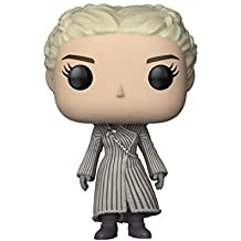 Funko Pop TV: Figura coleccionable de Juego de Tronos Daenerys, color blanco