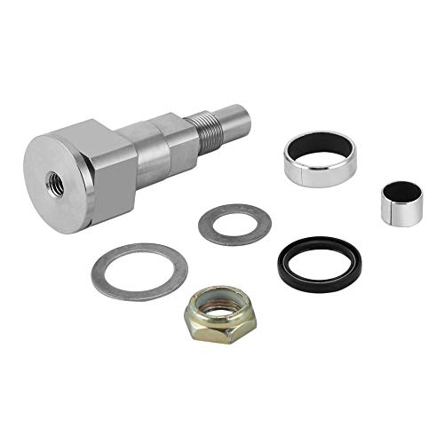 Power Steering Gear Box Pitman Shaft Seal Kit, Swivel Seal Bushing Nut KIT - Silver (Pitman Shaft)