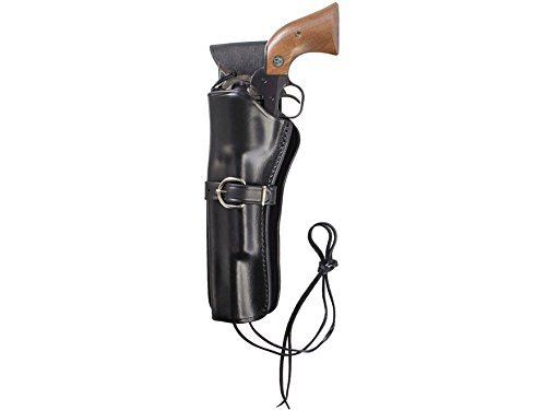 TRIPLE K 11414 114 Cheyenne Western Holster, Black, Plain Finish 11416