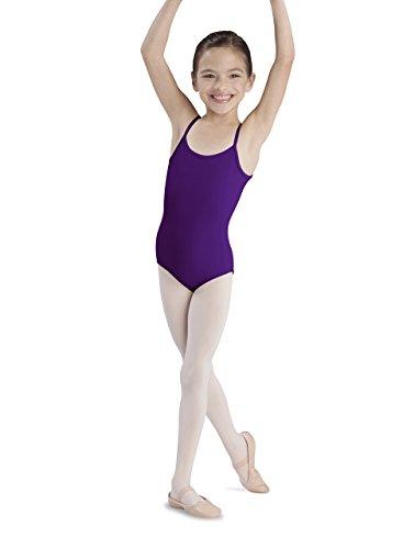 Bloch Dance Girls Plie Mid-High Back/Scoop Front Camisole Leotard