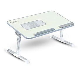 Portronics My Buddy Plus POR-704 Adjustable/Portable/Foldable Multipurpose Laptop Cooling Table