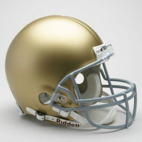 Notre Dame Fighting Irish NCAA Riddell Full Size Authentic Helmet