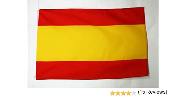 AZ FLAG Bandera de ESPAÑA SIN Armas 150x90cm - Bandera ESPAÑOLA ...