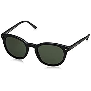 Giorgio Armani AR8060 - 5042R5 Sunglasses Matte Black/ Green 50mm