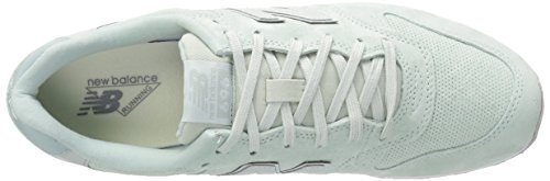 New Balance Womens 696v1 Classic Sneaker Mint Cream / Sky Grey