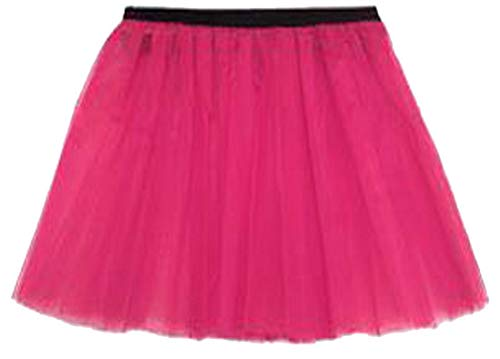 LIFE Jupe Taille Mini FASHION Femme Vif Noir Unique Rose Jupe LTD REAL dgpqntq