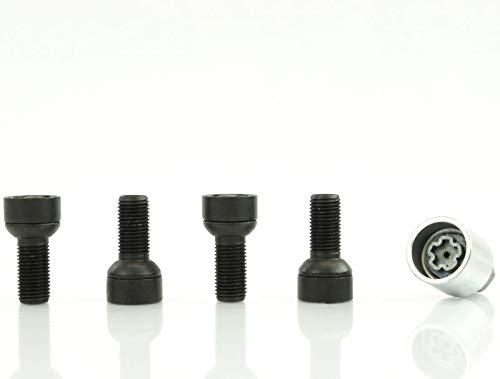 EOS Heyner Germany Locking Wheel Nuts Set 4 Removal Key Car Security Locks Anti-theft