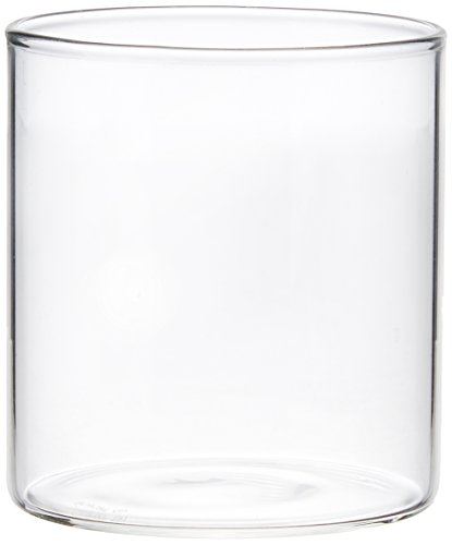 Borosil Vision Small Squat Glass, 210ml, Set of 6