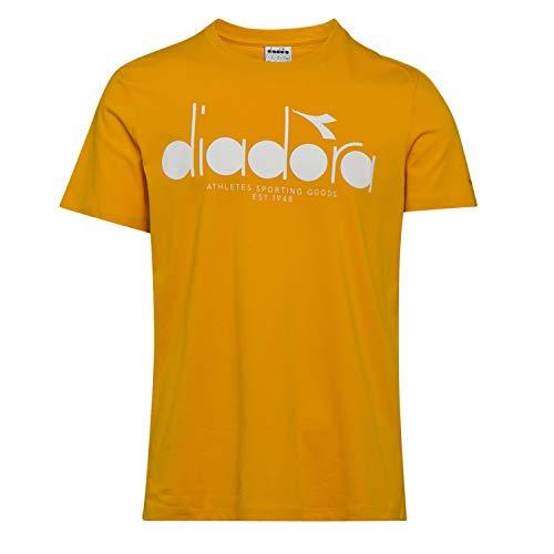 Ss T 35040 Per Uomo Diadora shirt Rod Bl Golden awqq41
