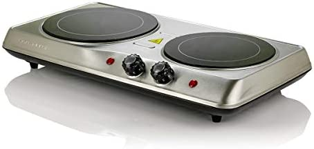 Ovente 6.5 & 7 Inch Double Hot Plate Ele