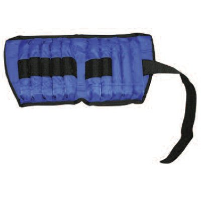 All Pro Adjustable Therapeutic Ankle & Wrist Weights - Ankle: 20 lb. = 20, 1-lb. wts. by Rolyn Prest
