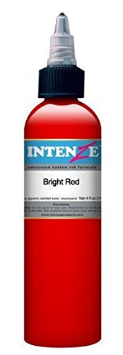 (Intenze Tattoo Ink Bright Red 2 oz)