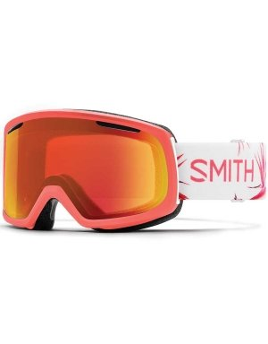 Smith Optics Womens Riot Snow Goggles Sunburst Zen Frame/ChromaPop Everyday Red (Riot Ski)