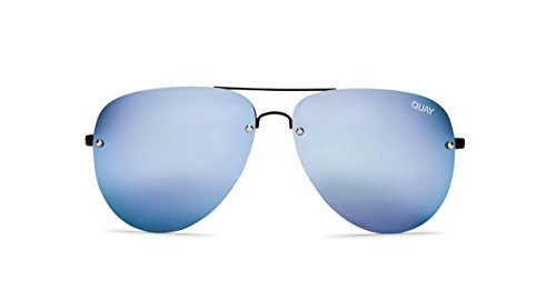 Quay Australia MUSE Women's Sunglasses Aviator w/ Mirrored Lenses - - Sunglasses Online Store Usa