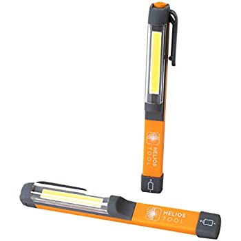 USB charger 180 degree rotation portable COB LED work light magnet flashlight Z7