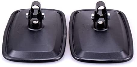 TRUCK DUCK/® 2 x universal Retrovisor Espejo Exterior 285 X 155 Mm Juego Espejo laterales para tractor excavadora Cami/ón Caravana
