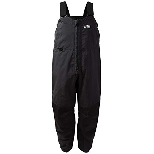 (Gill Men's Fishing Tournament Bib Trousers, Graphite, Large)