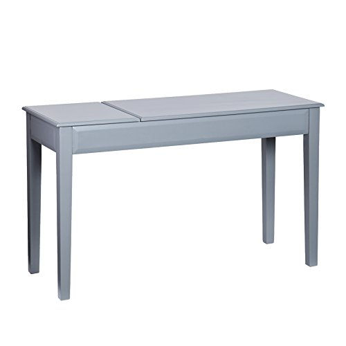 Holly & Martin Uphove Writing Desk - Cool Gray/Black