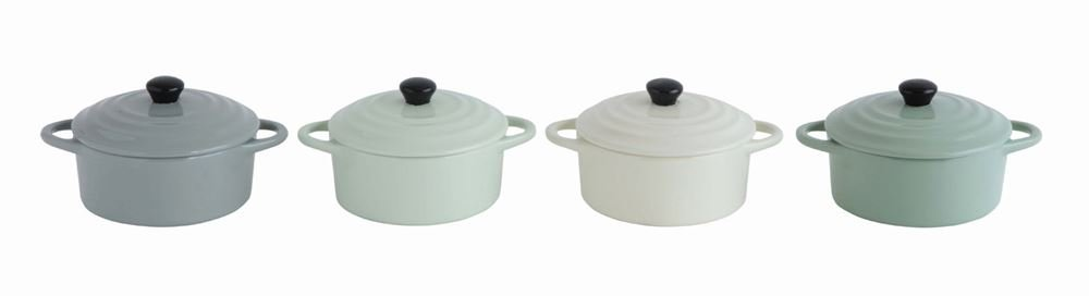 Christina Home Designs Casserole Dish | 8 oz Mini Baker Casserole Dish with Lid and Handles | Dutch Oven For Everyday Use | Oven, Microwave, Dishwasher Safe For Small Pot, Stoneware Bakeware | Cooking by Christina (Image #2)
