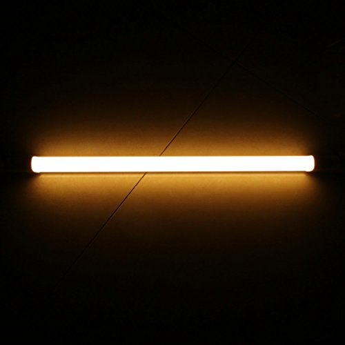 2-Pack Of Anten T8 LED Shop Light Tube, 2ft, 10W, 3000K
