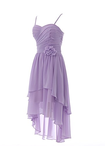 YiYaDawn - Vestido - trapecio - para mujer gris claro