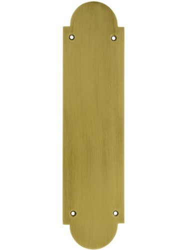 BRASS Accents A07-P0240-609 Palladian Push Plate, 3