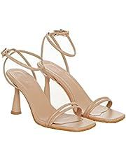 Juseshoes İnce Topuklu Kadın Yazlık Şık Ayakkabı