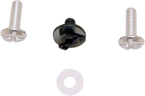 AFX Helmet Visor Screw Kit Only FX-39DS Dual Sport - Black 0133-0604